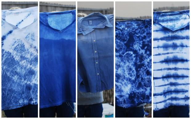 shibori shirts