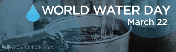 world water day banner